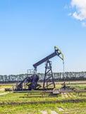 Produkcja kopalny olej w Usedom Zdjęcie Stock