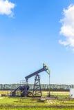 Produkcja kopalny olej w Usedom Obrazy Royalty Free
