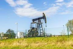 Produkcja kopalny olej w Usedom Obraz Stock