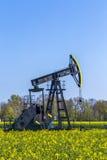 Produkcja kopalny olej w Usedom Fotografia Stock
