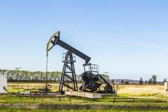 Produkcja kopalny olej w Usedom Fotografia Royalty Free