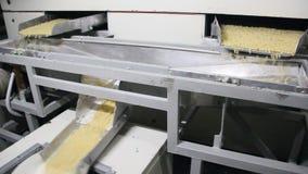 Produkcja makaron zbiory wideo