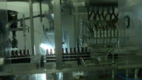 Produkcja medycyny w butelkach zdjęcie wideo
