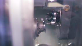 Produkcja obiektywy dla szkieł w górę zdjęcie wideo