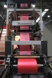 Produkcja plastikowi worki obrazy stock
