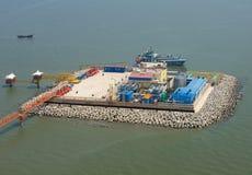 Produkcja ropy naftowej zdjęcia stock