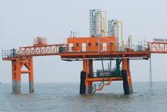 Produkcja ropy naftowej fotografia stock