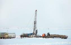 Produkcja ropy naftowej Obraz Stock