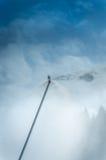 produkcja sztuczny armatni śnieg Zdjęcie Stock