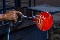 Produkcja sztuki szkło zdjęcie stock