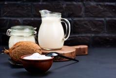 Produkt de noix de coco Photographie stock