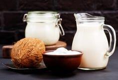 Produkt de noix de coco Images libres de droits