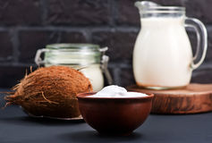 Produkt de noix de coco Photos libres de droits