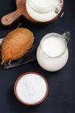 Produkt de noix de coco Photo stock