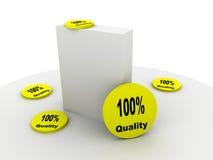 Produkt mit Qualität lizenzfreie abbildung