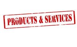 Produkt und Service lizenzfreie abbildung