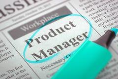 Produktchef Join Our Team 3d stock illustrationer