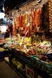 Produkte auf dem Markt Stockfotografie