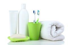 Produkte der persönlichen Hygiene Lizenzfreies Stockfoto