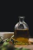 Produkte des Feldes am Tisch lizenzfreies stockfoto