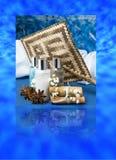 Produkte für Körpersorgfalt lizenzfreie stockbilder