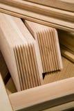 Produkte vom Holz Stockfoto