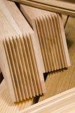 Produkte vom Holz Lizenzfreies Stockbild