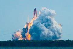 Produkteinführung der Bemühung STS134 lizenzfreies stockbild