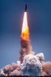 Produkteinführung von Atlantis-STS-135 stockbild