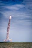 Produkteinführung von Atlantis - STS-135 stockfotografie