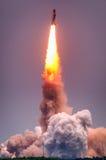 Produkteinführung von Atlantis-STS-135 stockfoto