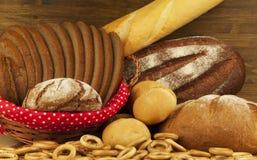 produkter för bageridesignbild Fotografering för Bildbyråer
