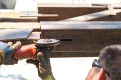 Produkter för stål för mansnittsladd Royaltyfria Bilder