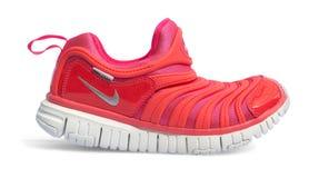 Produktfors av Nike den rinnande skon Royaltyfria Foton