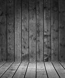 Produktfotomall Grey Wood Arkivfoton