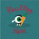 Produkthjälpen underhåller ögonhälsa Royaltyfria Bilder