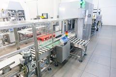 Produktion av den specialiserade fett- och för mattillsatser industrianläggningen arkivbilder