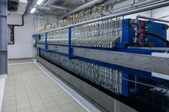 Produktion av den specialiserade fett- och för mattillsatser industrianläggningen arkivbild