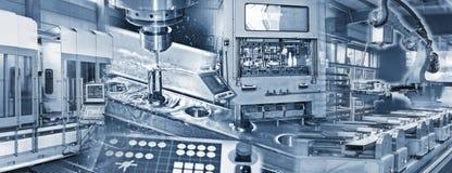 Produktion in der Industrie stockbilder