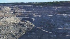 Produktion des natürlichen Asbests Lizenzfreies Stockbild
