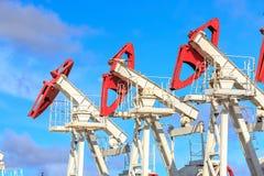 produktion för gasolja Royaltyfria Foton