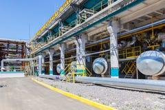 Produktion för kemikalie för kylningutrustning royaltyfria foton