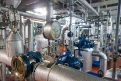 Produktion fachkundiger Fette und Lebensmittelzusatzstoffe Industrieanlage lizenzfreies stockfoto