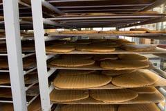 Produktion på konfektfabriken royaltyfri fotografi