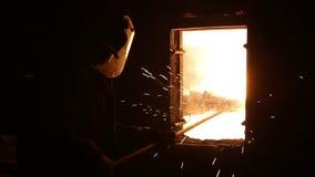 Produktionen av järn lager videofilmer