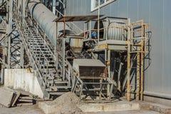Produktionskapaciteten av sockerfabriker Royaltyfri Foto