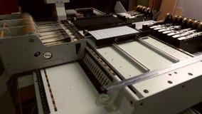Produktionsverfahren der Herstellung von LED-Platten stock footage