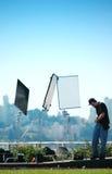 produktionvideo arkivbilder