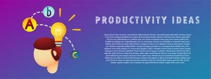 Produktivitätsideen Auch im corel abgehobenen Betrag flach steigung fahne Stockbilder