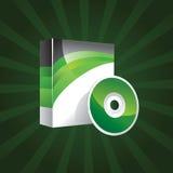 Produktkasten-Schablonenvektor Lizenzfreie Stockfotografie